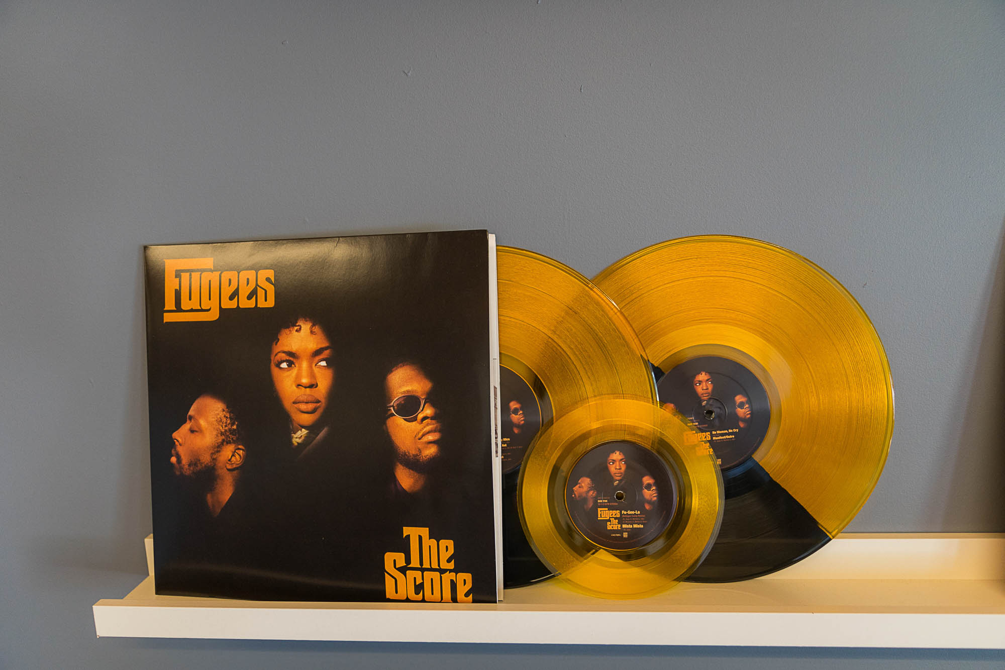 The Fugees album at Vinyl Me, Please in Denver.