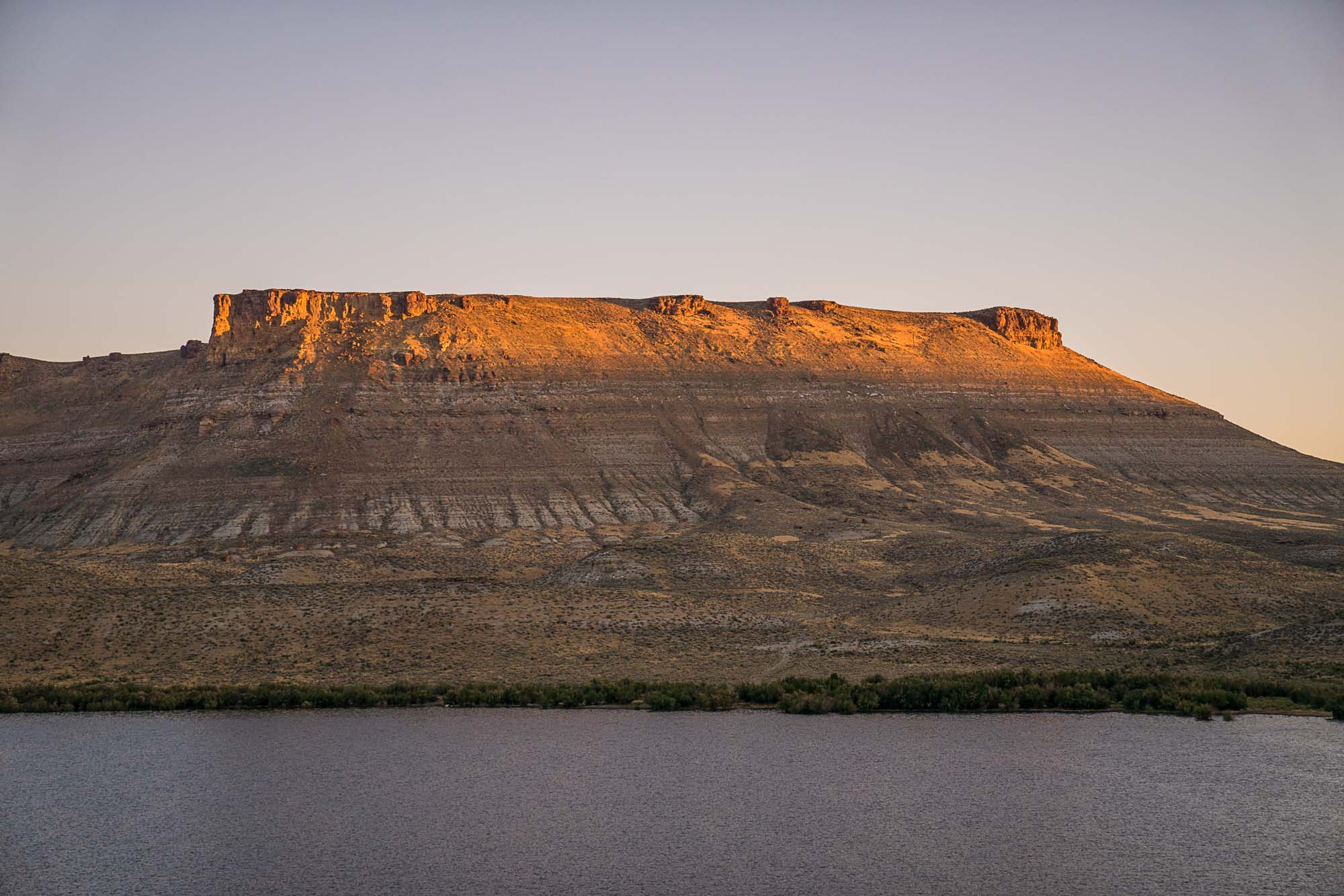 Firehole Canyon in Green River, Wyoming.