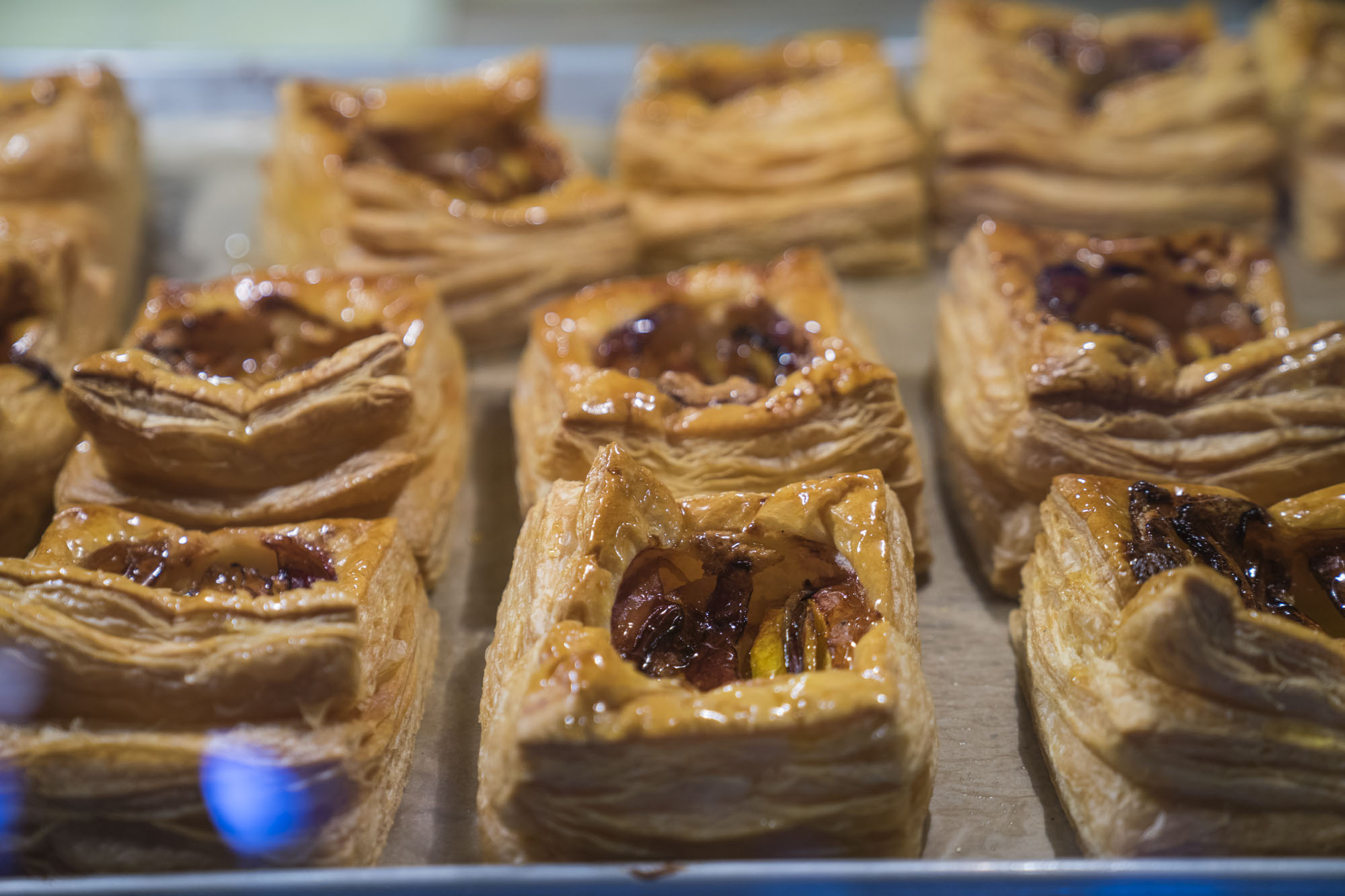 Pastries at Cafe Besalu in Seattle.