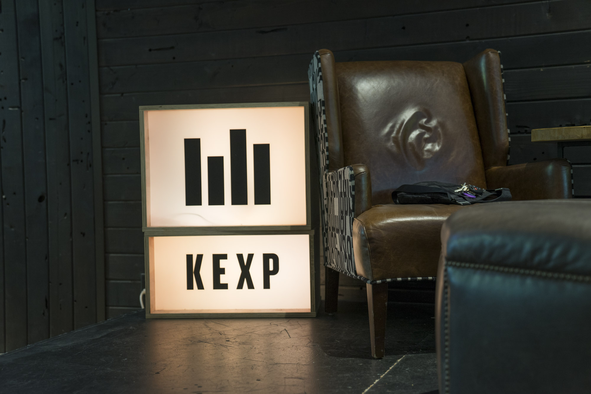 KEXP Sign In Seattle, WA.