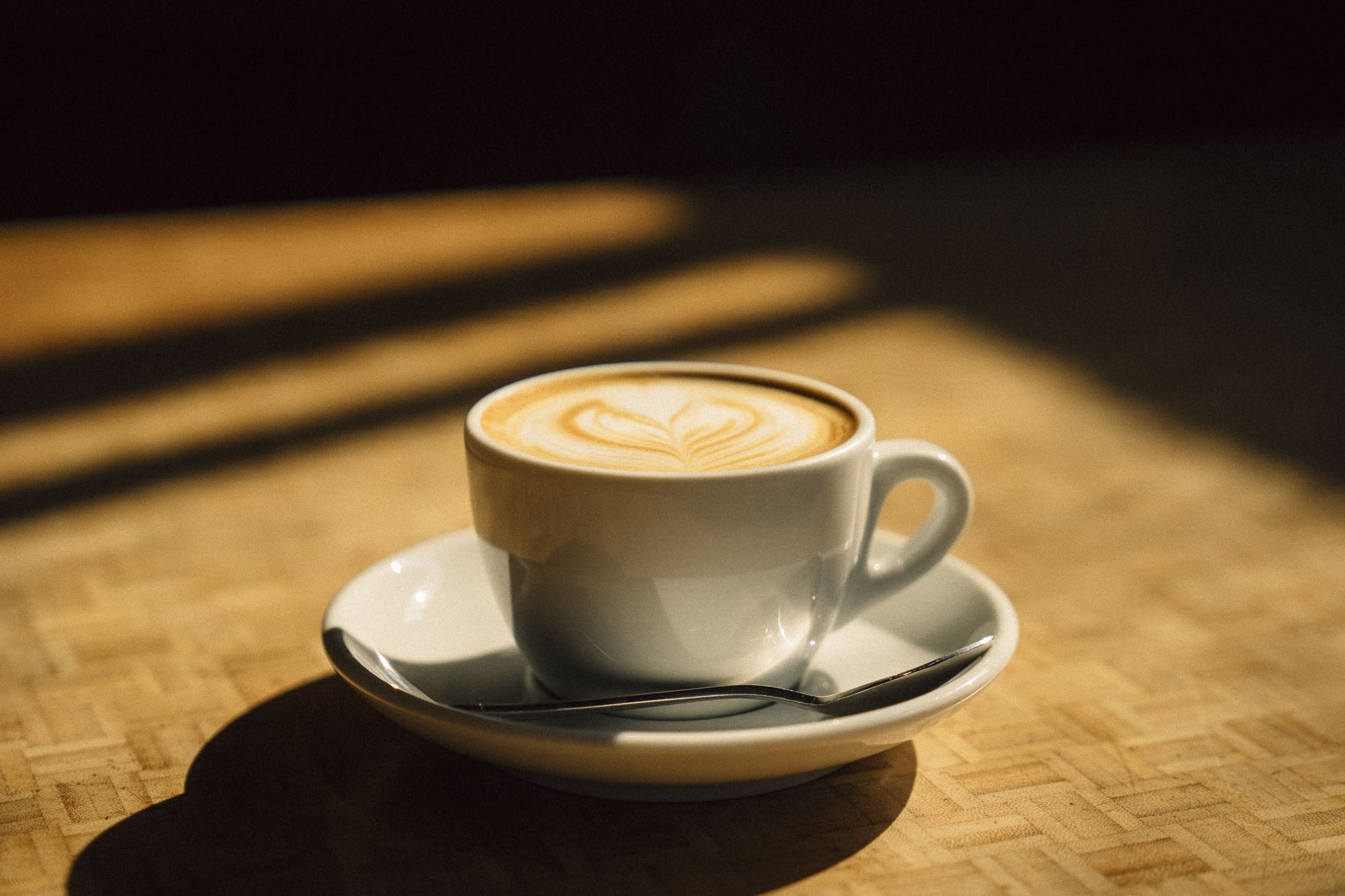 A cup of coffee at Coava in Portland for Dirt Road Travels