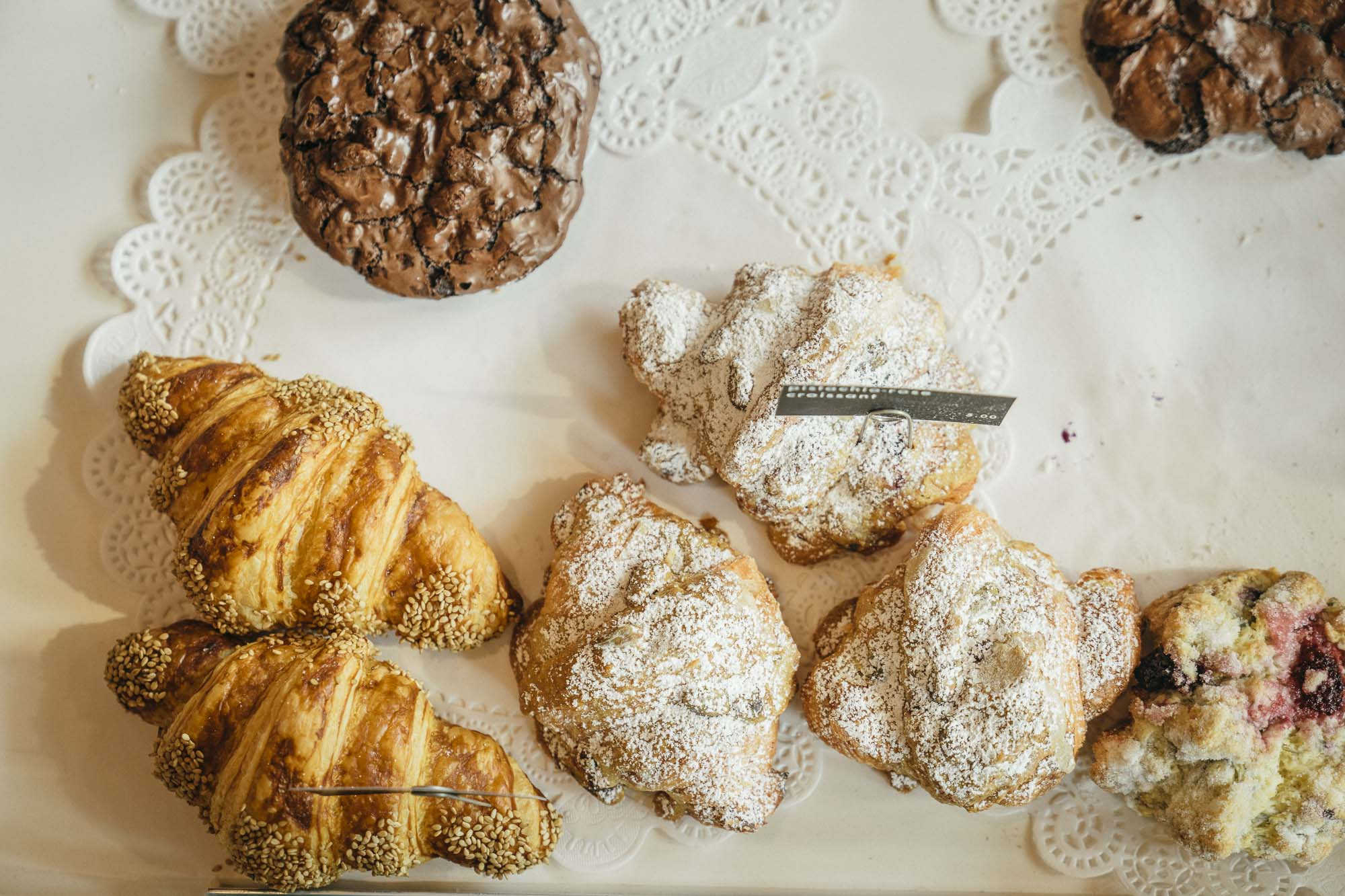 delicious pastries from Heart Coffee