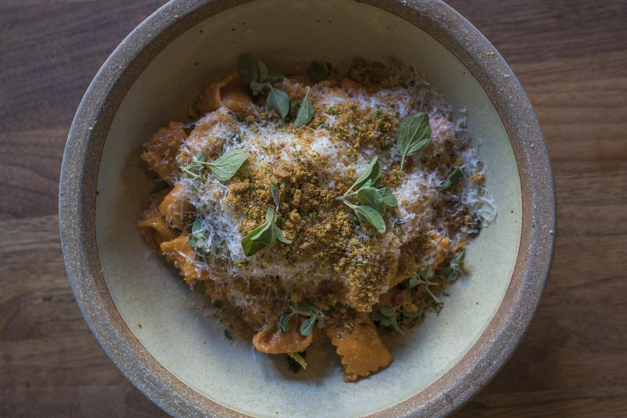 An italian food dish at Flour and Water in San Francisco for Dirt Road Travels