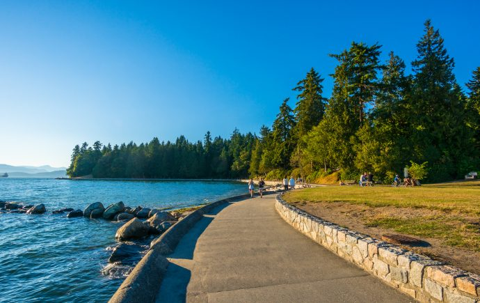 Stanley Park in Vancouver, British Columbia as part of the Dirt Road Travels city guide.