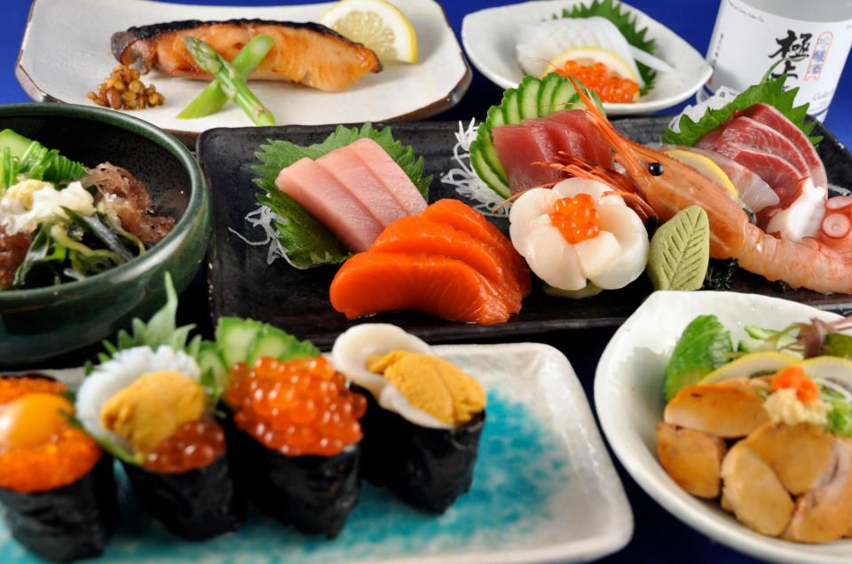 Ajisai sushi bar and japanese food in Vancouver, Canada for Dirt Road Travels