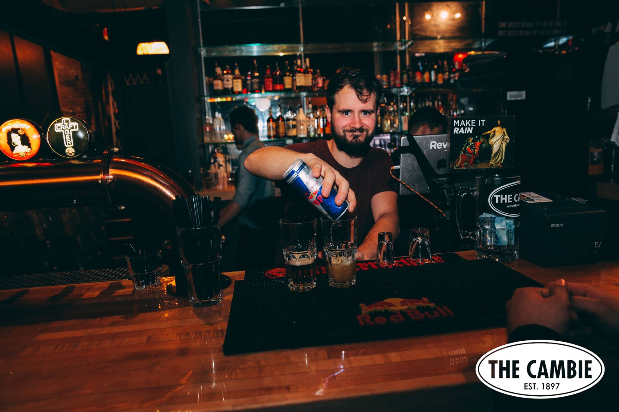 The Cambie Bar is one of the recommended spots to grab a drink in Vancouver, British Columbia as part of Dirt Road Travels.