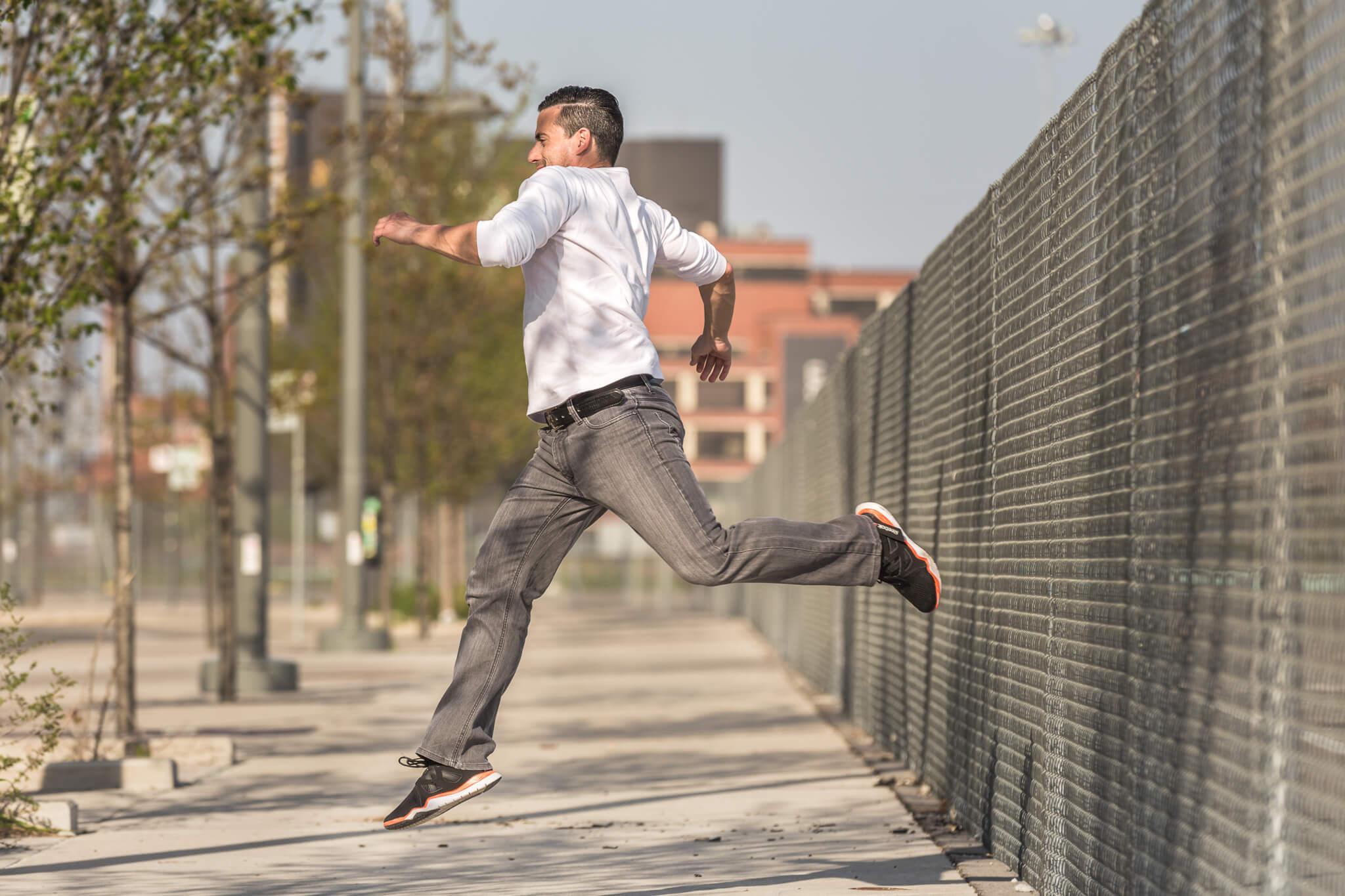 ADM Macho Leaping