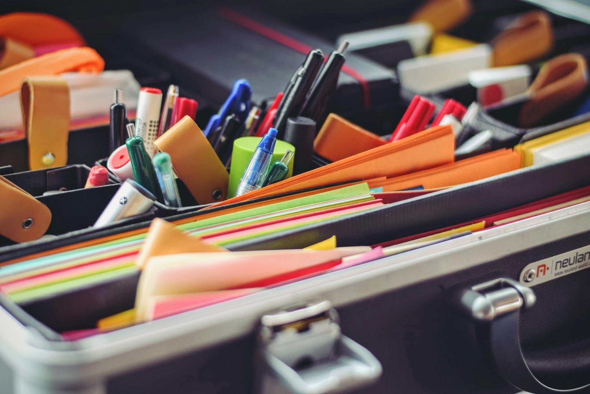 organização de rotina criativa