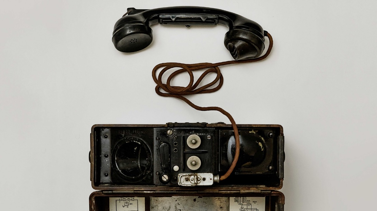 Modelo de telefone antigo