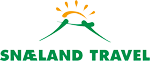 Snæland Travel Logo