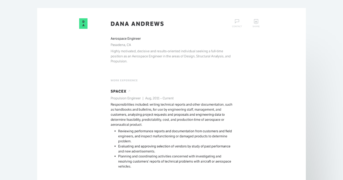 Standard Resume: A Modern, Professional Resume Builder  Photo On Resume