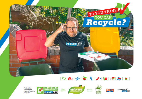 National Recycling Week So you think you can recycle
