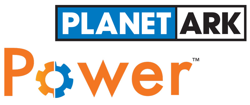 Planet Ark Power Logo GoZERO