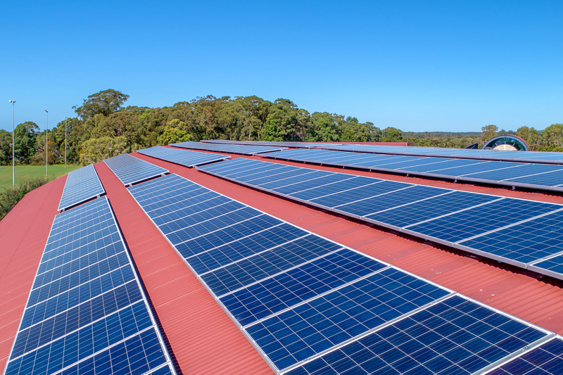 Siena Catholic College School Solar Planet Ark