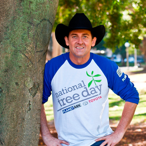 National Tree Day 2016 Media Ambassador Lee Kernaghan