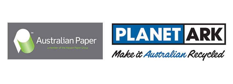 Planet Ark Make It Australian Recycled and Australian Paper
