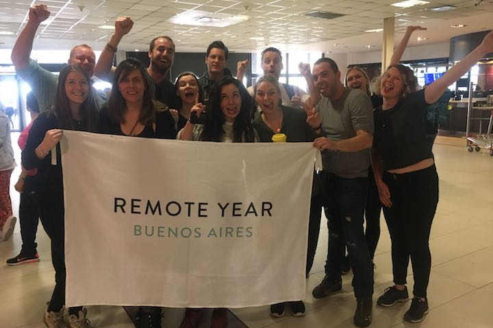 Remote Year Aurora arrives in Buenos Aires