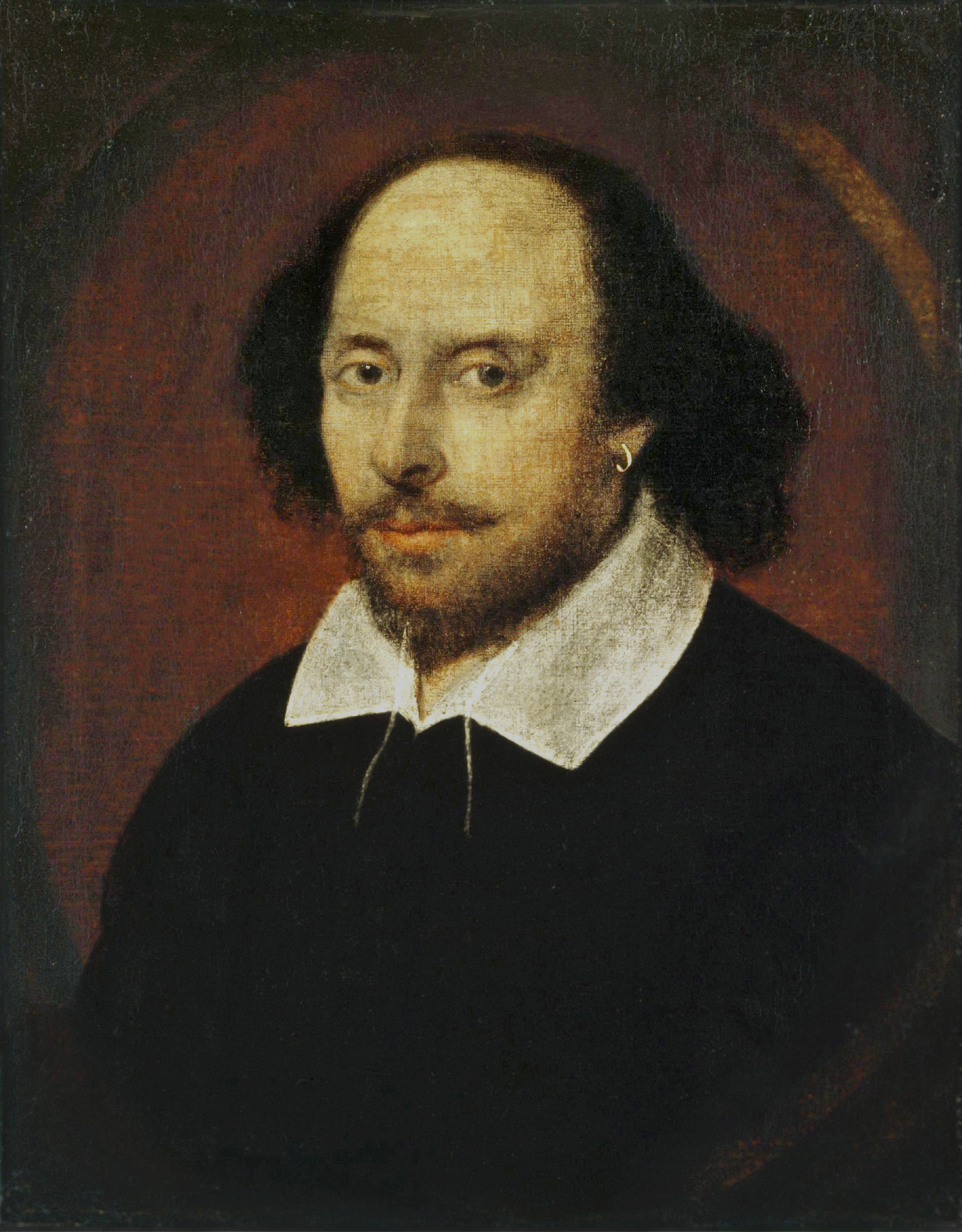 Pilcrow Shakespeare Portrait