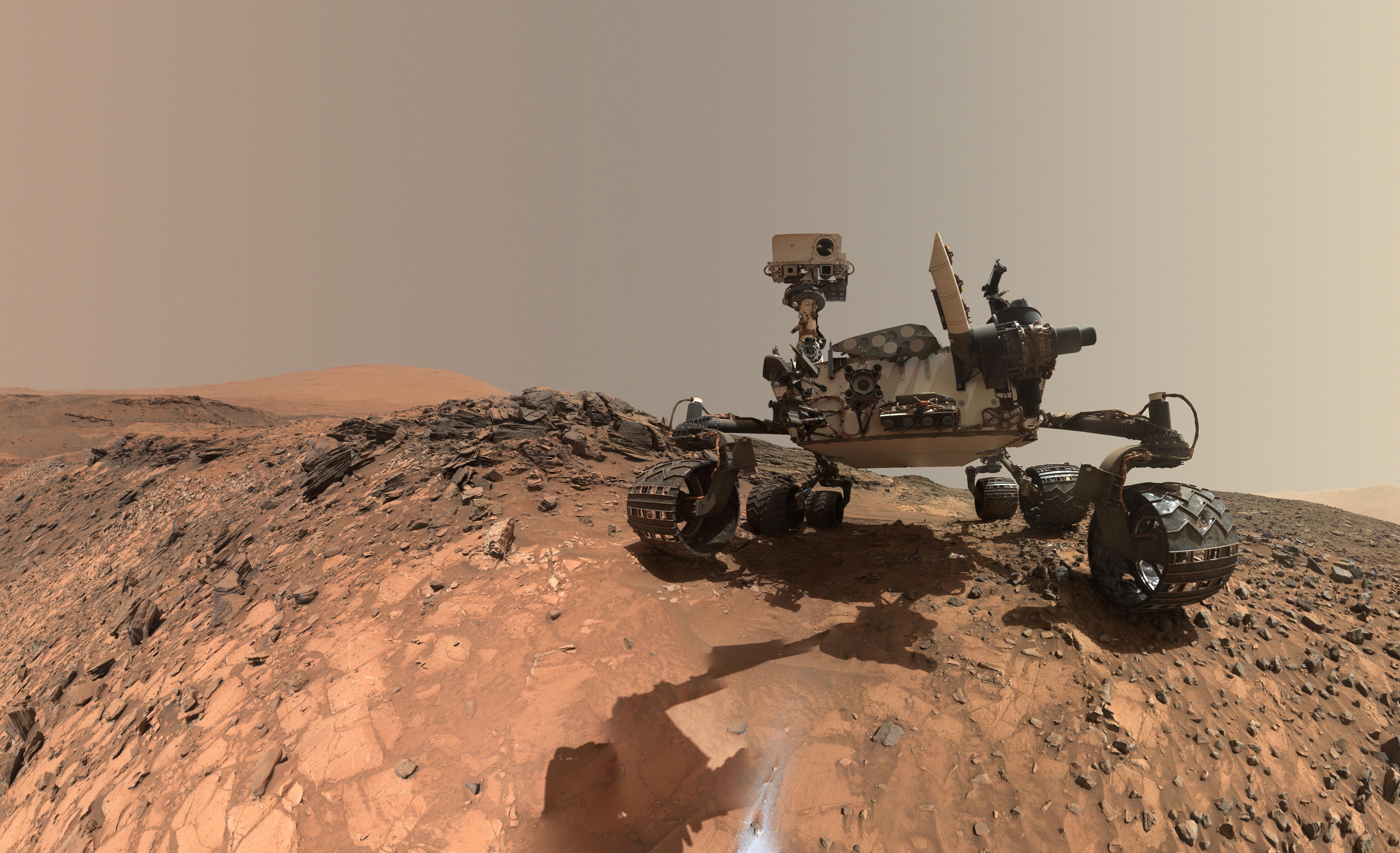 Pilcrow Mount Sharp Mars