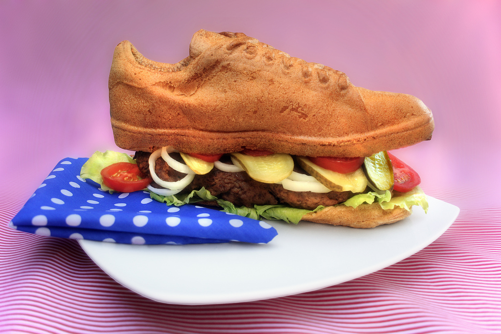 Pilcrow Shoe Burger
