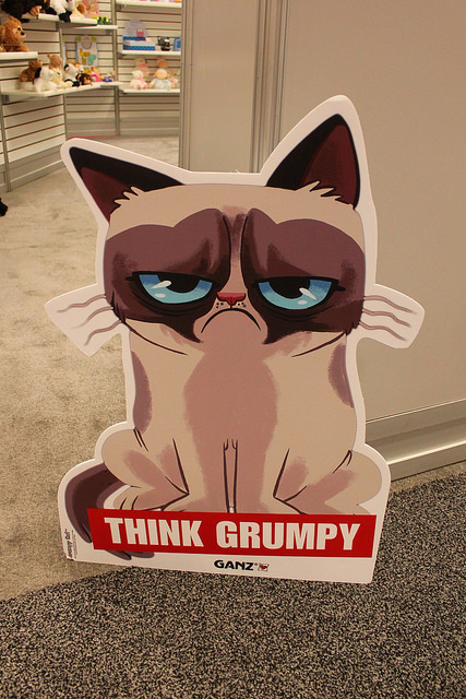 Pilcrow Grumpy Cat