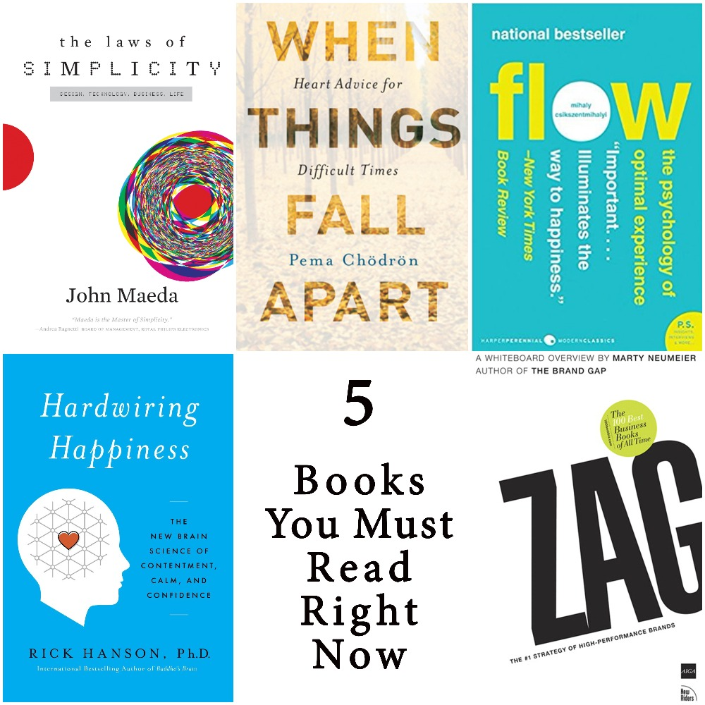 5 Books You Must Read Right Now