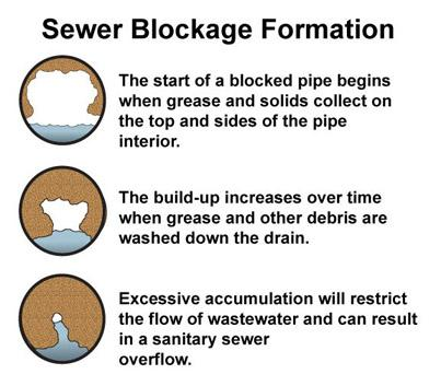 Sewer Blockage Formation