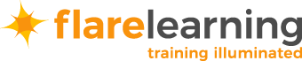 Flare Learning Logo - Flare Learning - Training Illuminated - eLearning Solutions