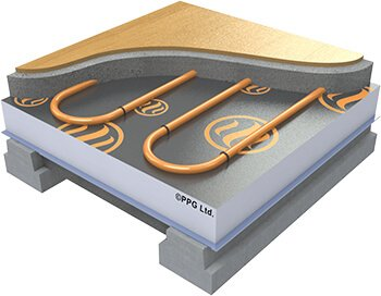 Beam & Block underfloor heating
