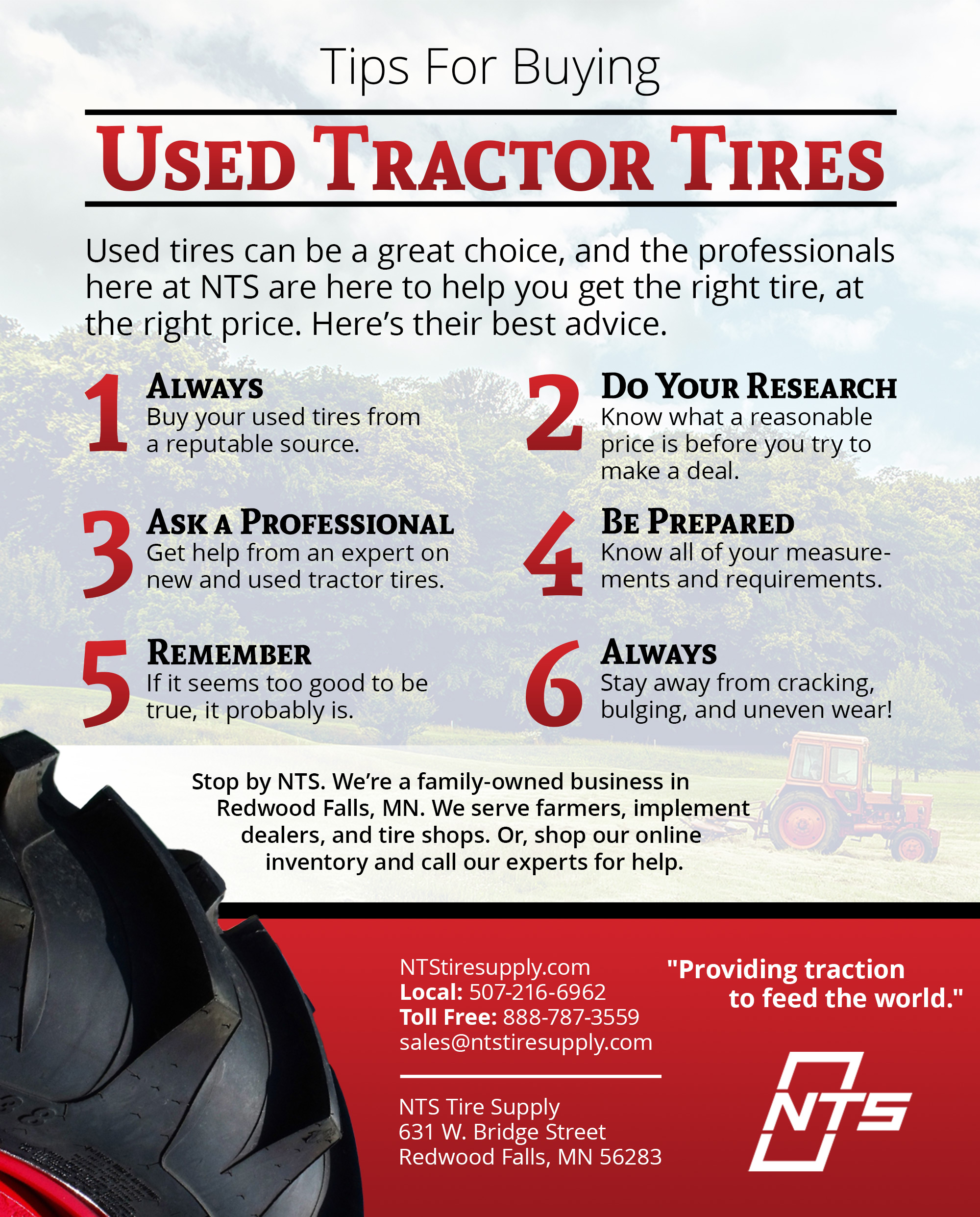 Buying Used Tires Nts Tire Supply