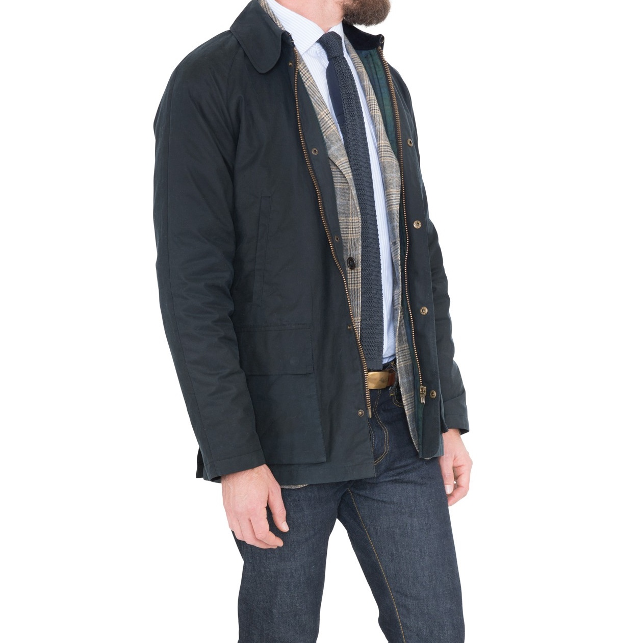 Sid Mashburn Navy Field jacket