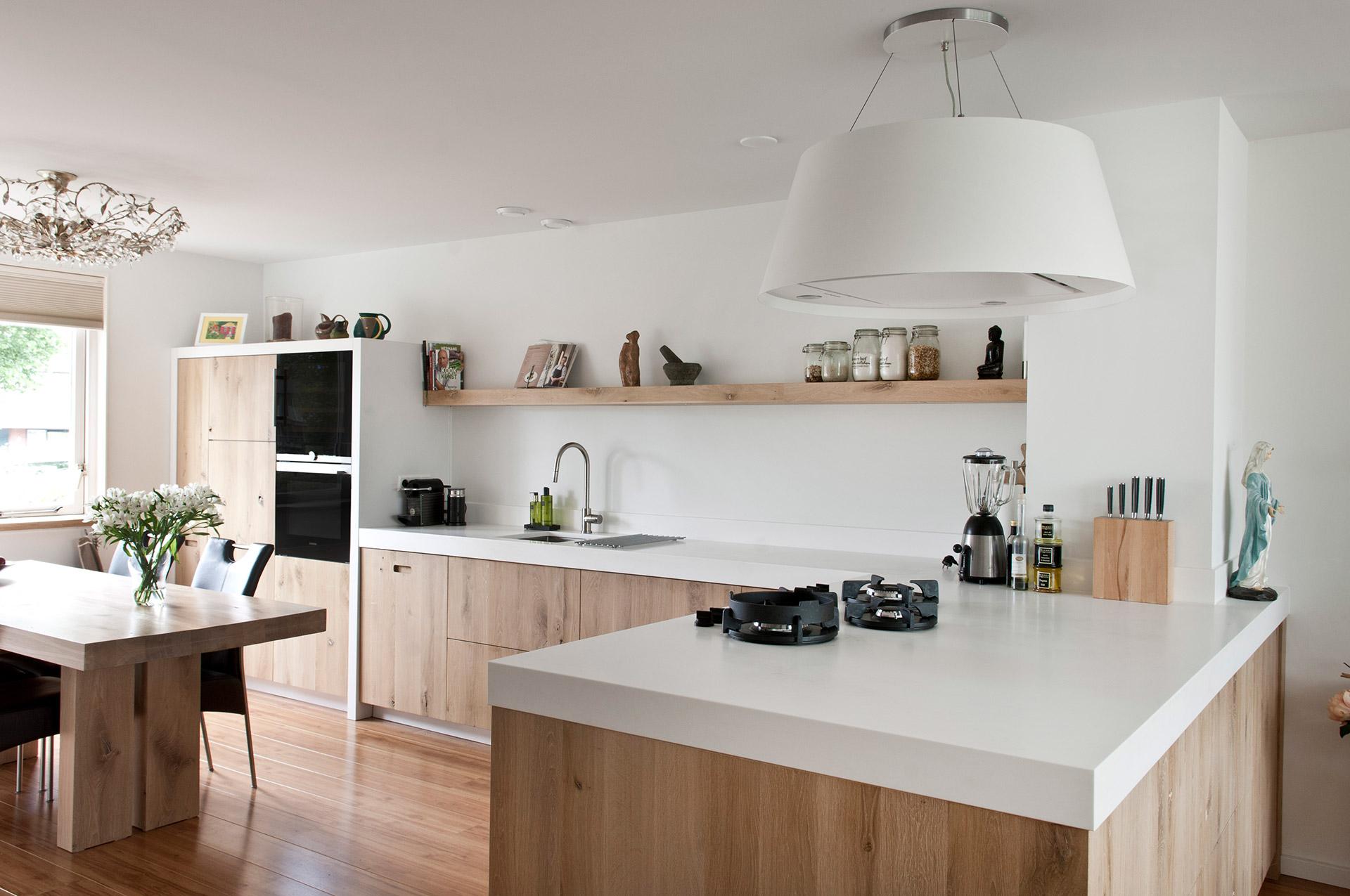 Strakke mooie moderne keuken for Moderne keuken