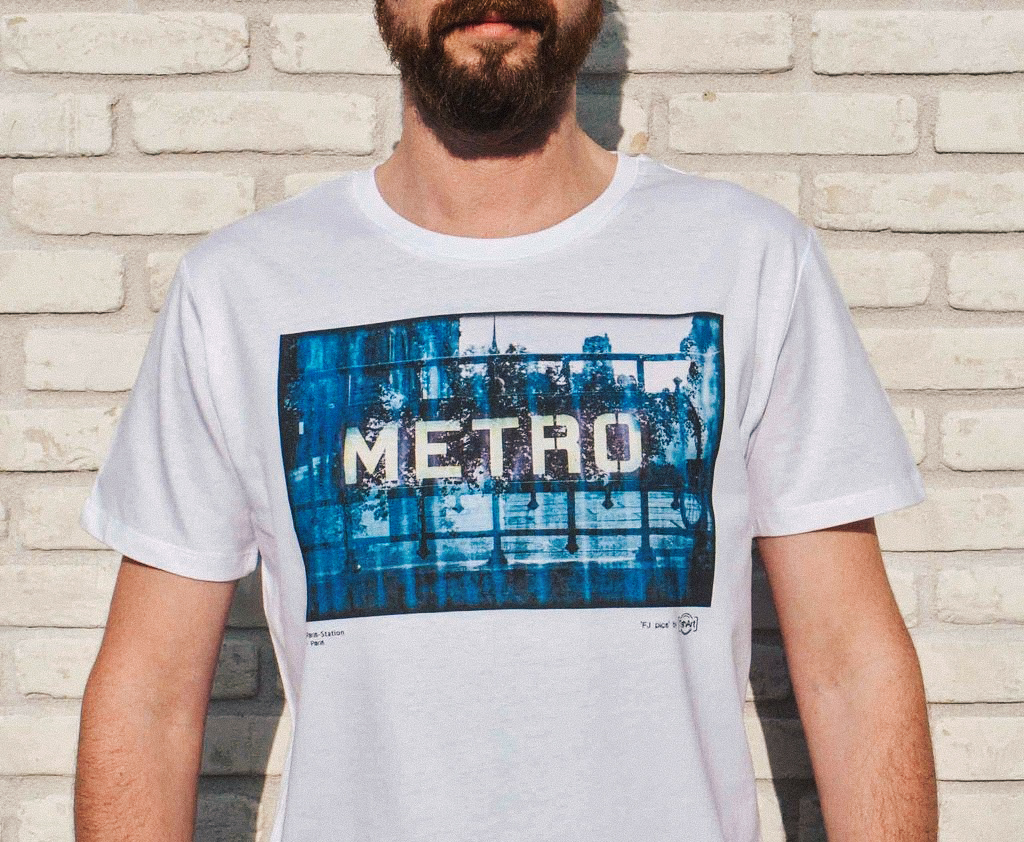T-shirt Paris-Station par TshArt