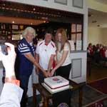 50th Anniversary at Grantown (cutting cake 2)