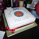 50th Anniversary at Grantown (cake)