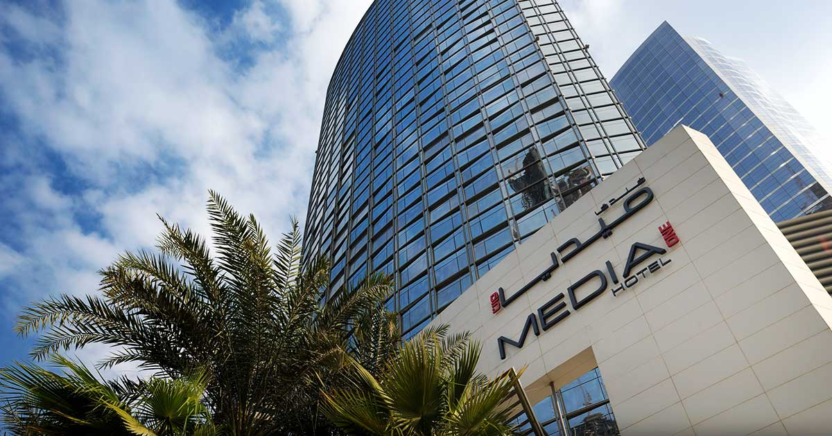 Media one hotel 4 star hotel in dubai media city marina for K porte inn hotel dubai