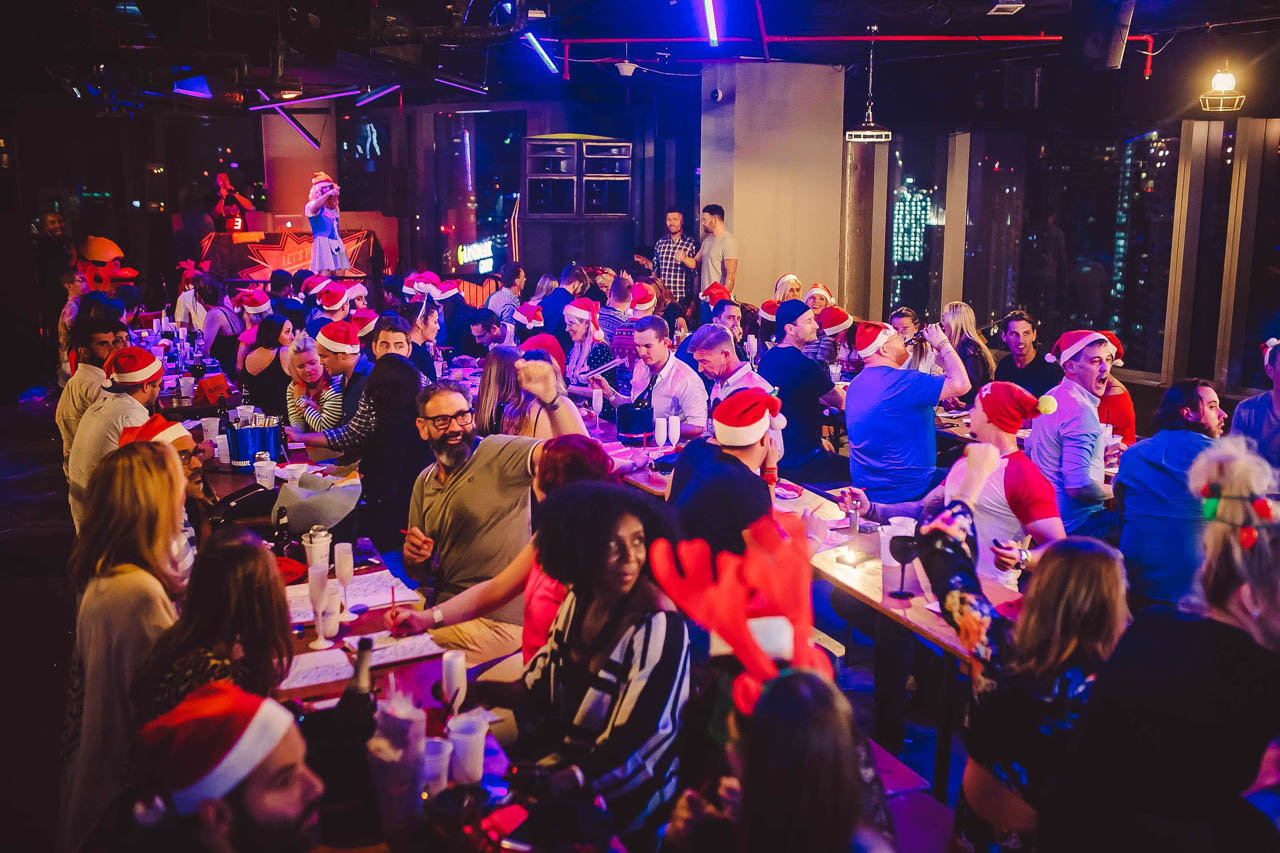 Christmas Bongo's Bingo at ON42