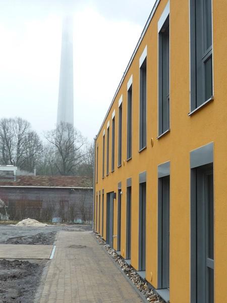 Außenansicht des neuen Gästehauses (UWZ)