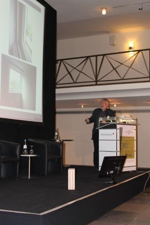 Bernd Leuters referiert auf dem EBH 2014