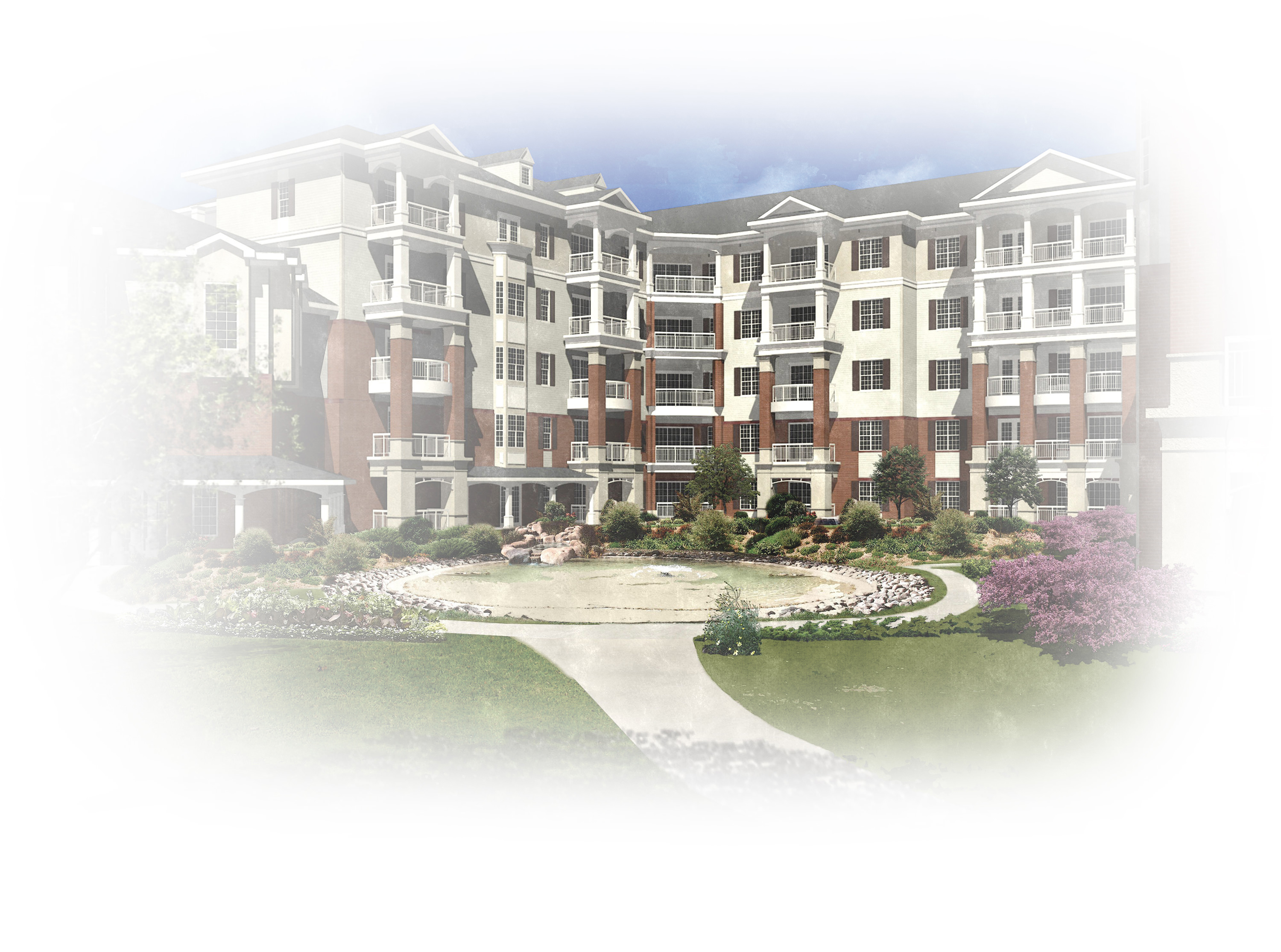 This illustration is an artist's rendering of how a  Midlands-area South Carolina Baptist Ministries of Aging  retirement community may look.