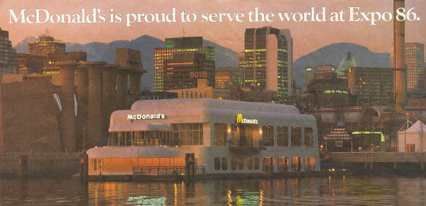 Expo 86 McDonald's ad (imgur)