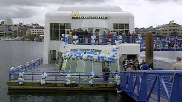 McBarge at the 1986 World Fair Expo (CBC)