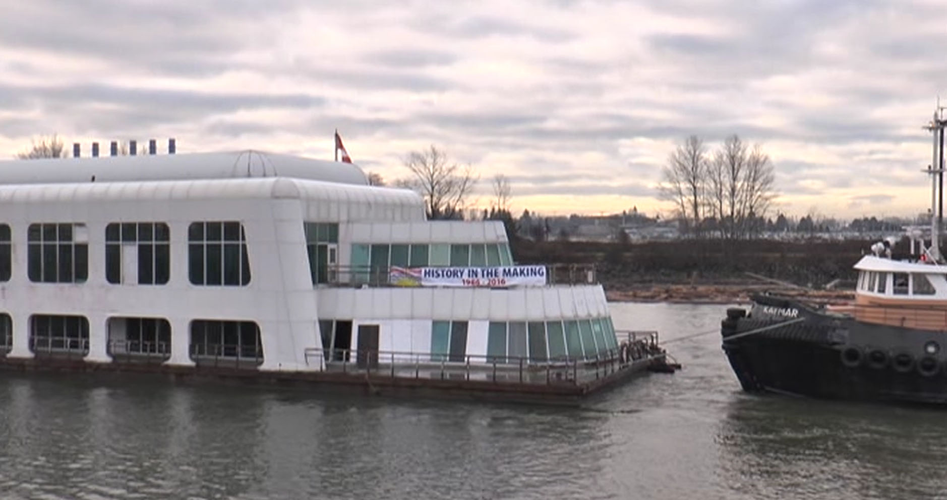 McBarge moving to Maple Ridge for further restoration