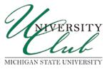 MSU University Club Logo