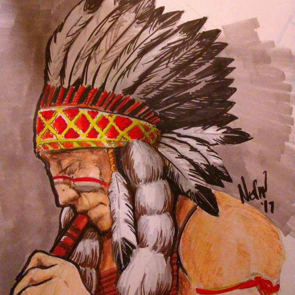 Indigenous, an Illustration by Nevin Speerbrecker--Exhibition and Opening Reception