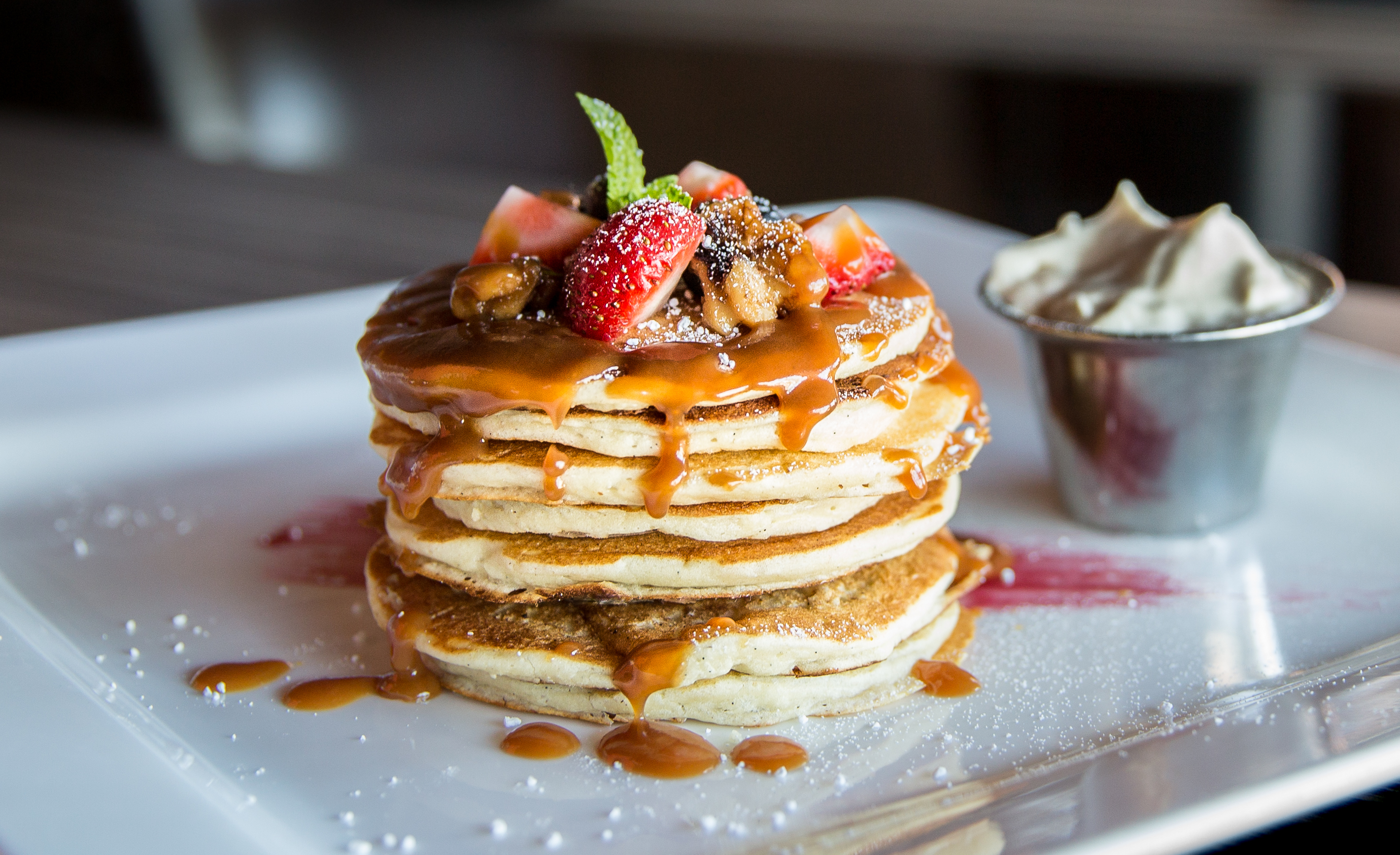 Cook and eat delicious pancakes on Family Day