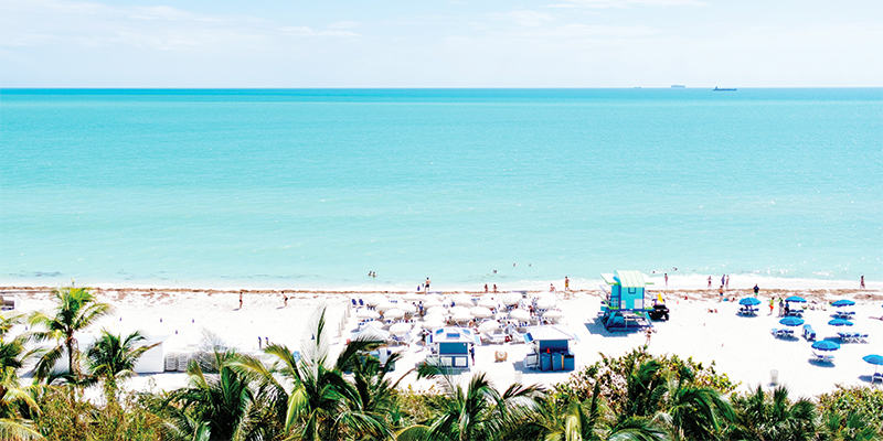 Miami Beach offers beach and party spots for new year eve