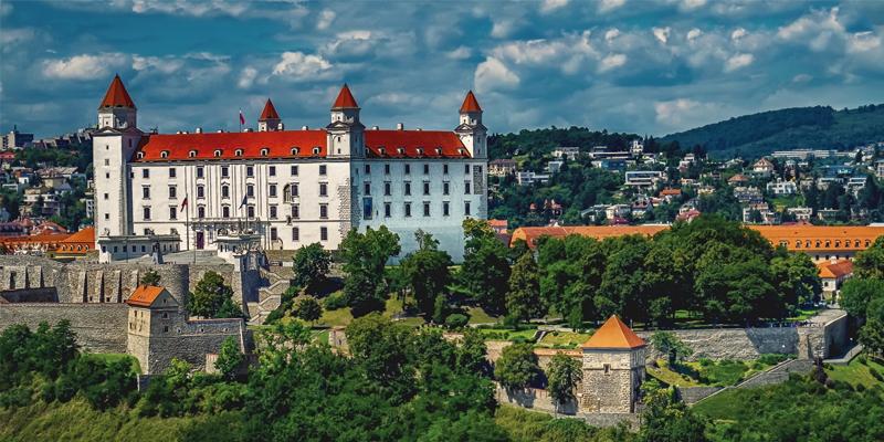 Bratislava's Castle New Year's Eve