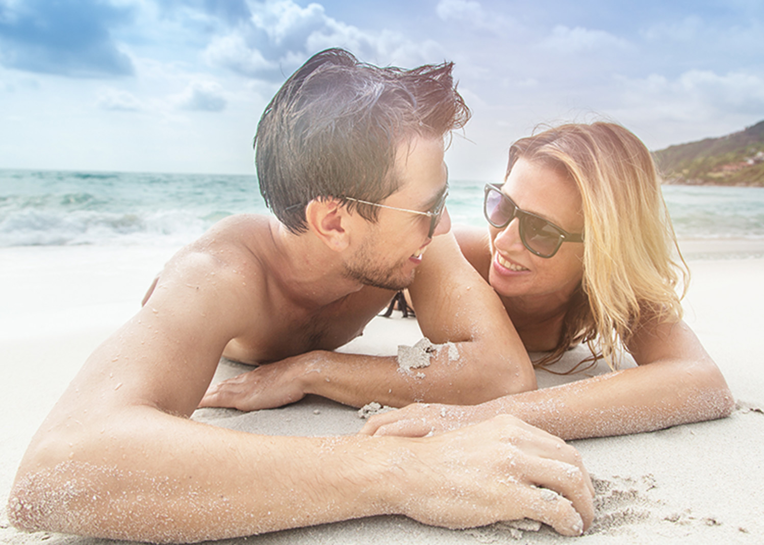 Starwood Vacation promo of a couple on a beach