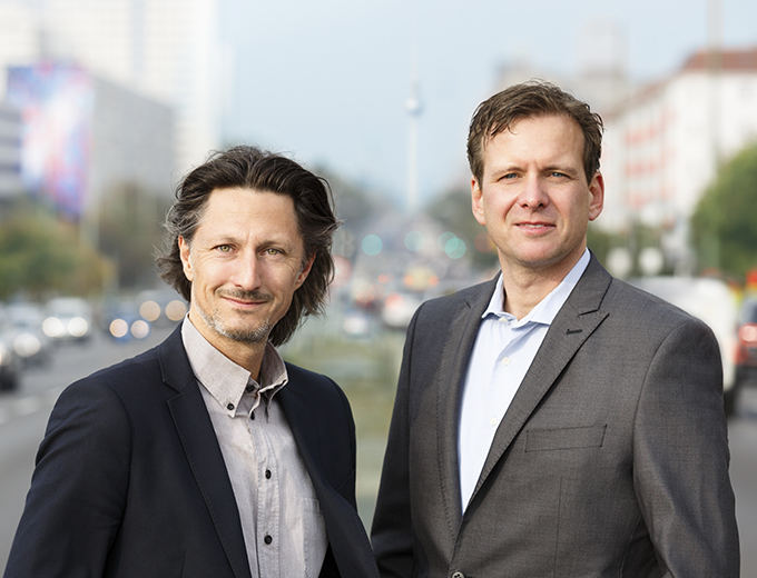 Holger and Patrick, founders of German Autolabs